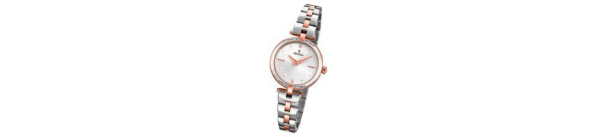 Relojes para la mujer.